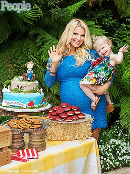 Jessica Simpson feliz de tener un hijo!! Baby Boy!!