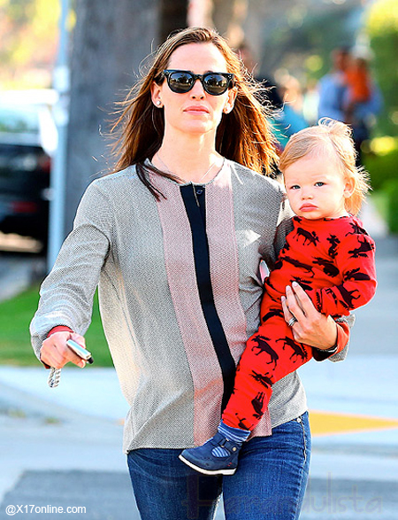 Jennifer Garner y su baby Samuel