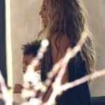 Fotos de Beyonce con su hija Blue - A quien se parece la baby???