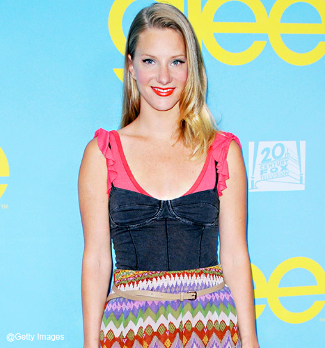 Glee - Heather Morris embarazada!