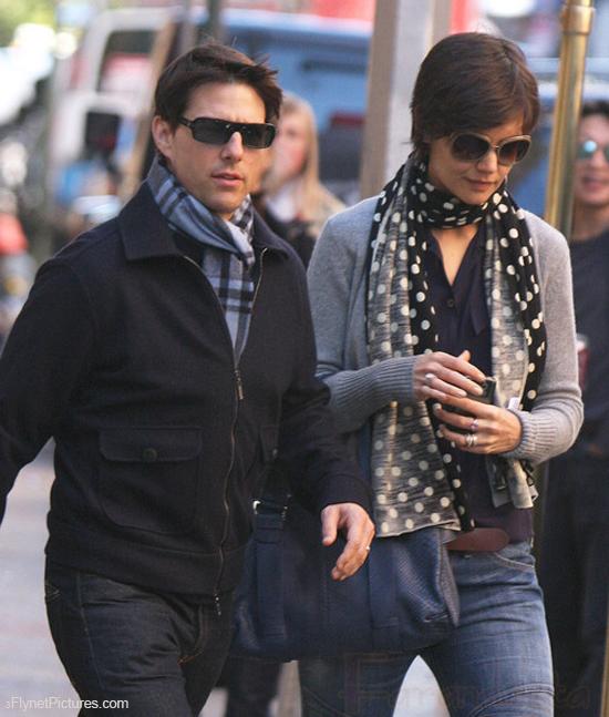 Tom Cruise jamás imaginó que Katie Holmes lo iba a dejar