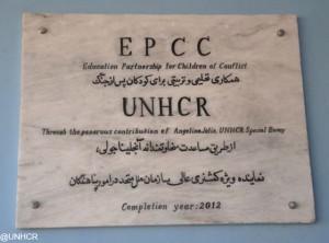 Angelina Jolie abre una escuela de niñas en Afganistan