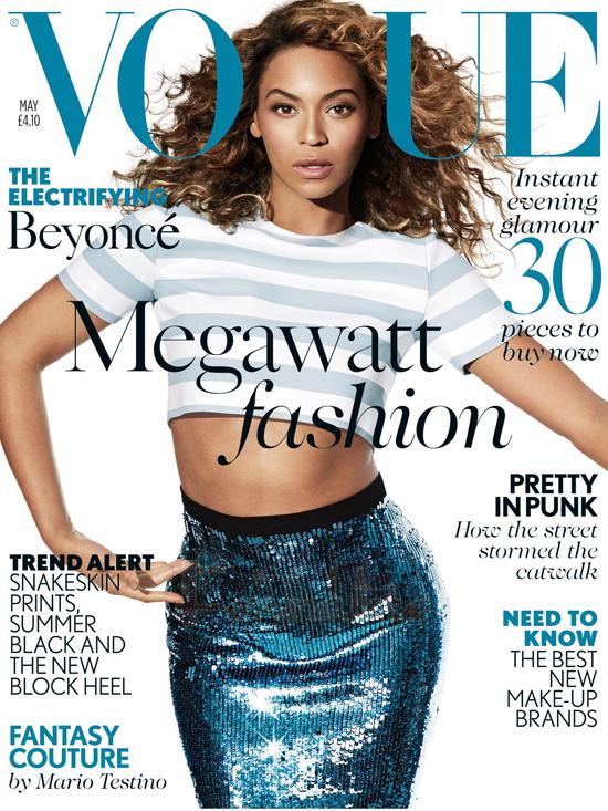 Beyonce en Vogue magazine - We lost it!