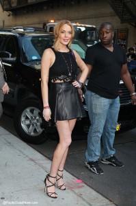 Lindsay Lohan con Letterman: Rehab es una bendición!