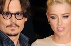 Johnny Depp y Amber Heard juntos en un Concierto