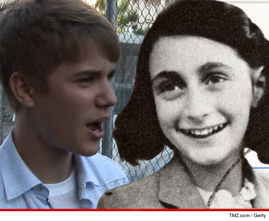 Justin Bieber dice que Anne Frank sería una Belieber