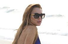 Lindsay Lohan en bikini en Brasil — My eyes! My eyes!!