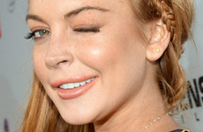 Lindsay Lohan en la Premier de 'Scary Movie 5'