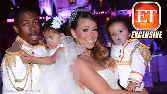 Mariah Carey & Nick Cannon celebraron su 5to aniversario en Disney