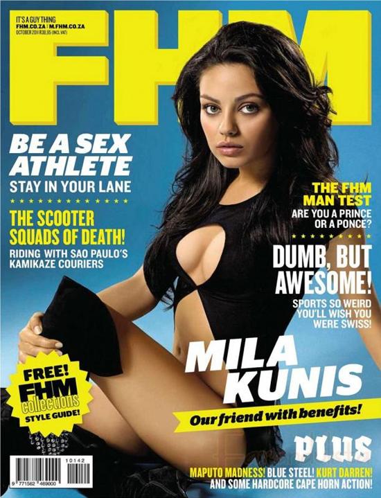 Mila Kunis es la Mujer Más Sexy del 2013 - FHM UK