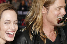Brad Pitt celebró solo hasta las 2 am el dia del Bday de Angelina?