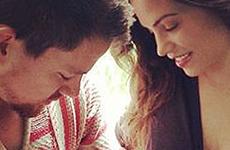 Channing & Jenna Dewan-Tatum presentan a su hija Everly