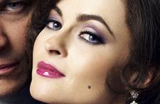 Helena Bonham Carter como Elizabeth Taylor para 'Burton and Taylor'