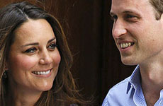 Kate Middleton y el Príncipe William llaman a su hijo: George Alexander Louis