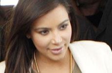 La primera aparición de Kim Kardashian luego de dar a luz