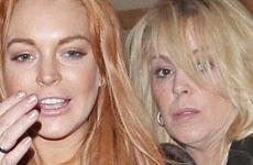 Dina Lohan habló ebria en una sesión de Terapia de Lilo