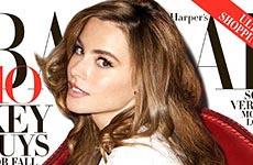 Sofia Vergara no cree en un look natural – [Harper Bazaar]