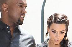 Kanye West quiere a Kim Kardashian y baby Nori en Vogue?