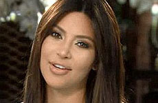 Kim Kardashian reaparece en el show de su madre, Kris