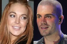 Lilo is back!!! Lindsay de fiesta con Max George!