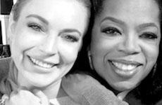Lindsay Lohan le miente a Oprah: Solo ha consumido de 10 a 15 veces! HA!