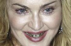 Madonna y su grill: chismes enlatados! OMG! FUG!