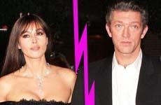 Monica Bellucci termina su matrimonio con Vincent Cassel