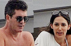Simon Cowell comenzó su romance con Lauren Silverman en el 2009
