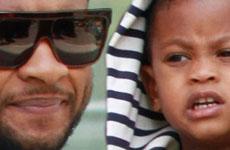 El hijo de Usher hospitalizado luego de accidente en la piscina