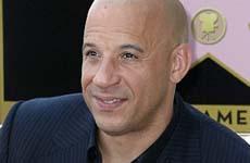 Vin Diesel recibe su estrella en el Paseo de La Fama en Hollywood