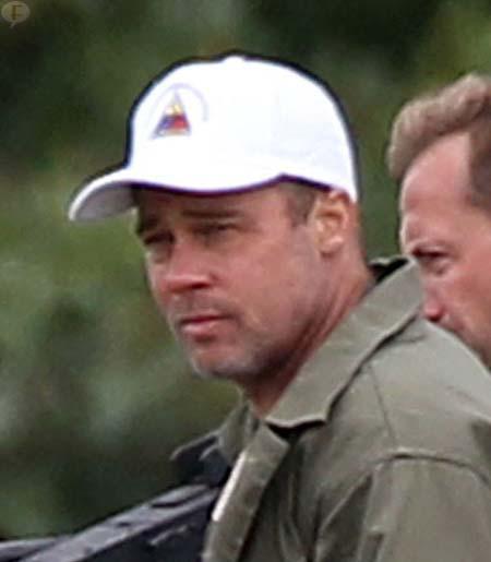 Brad Pitt se cortó el cabello... Awwww