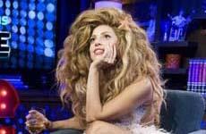 Gaga habla de su pasado sexual – Plus! Portada de Elle