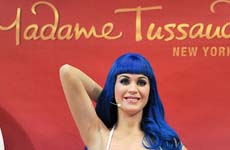 Katy Perry en el Madame Tussauds New York