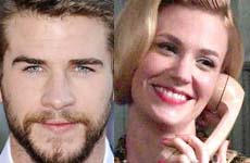 Liam Hemsworth y January Jones again?
