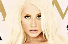 Christina Aguilera muestra su delgada figura en Maxim