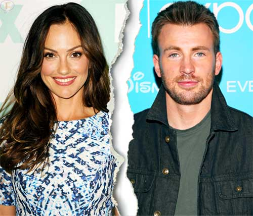 Chris Evans y Minka Kelly terminaron again!