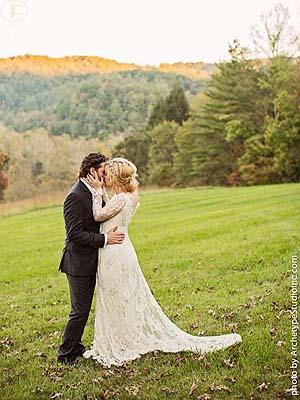 Kelly Clarkson se casó con Brandon Blackstock en Tennessee!!