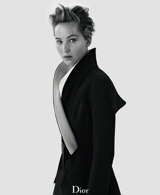 Jennifer Lawrence para Dior Magazine