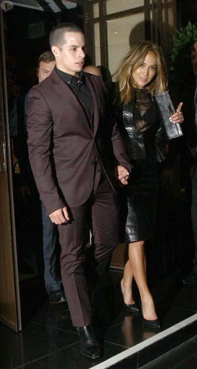 Jennifer Lopez dejó a Casper Smart?