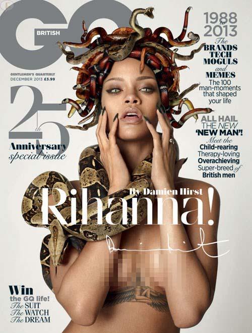 Rihanna como Medusa en GQ
