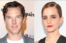Las Estrellas de Cine más Sexys: Cumberbatch y Emma Watson!
