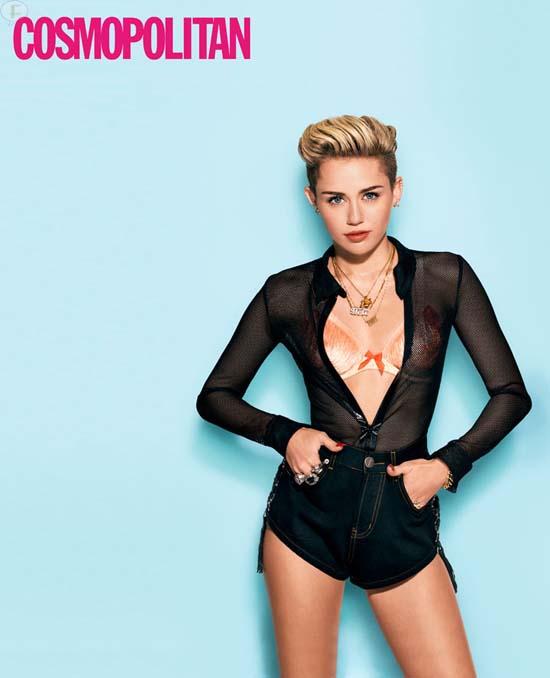 Miley Cyrus: Es el mejor momento de mi vida! [Cosmopolitan]
