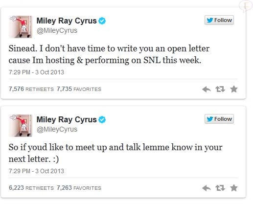 miley-tweet-to-sinead