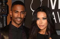 Glee, Naya Rivera comprometida con Big Sean