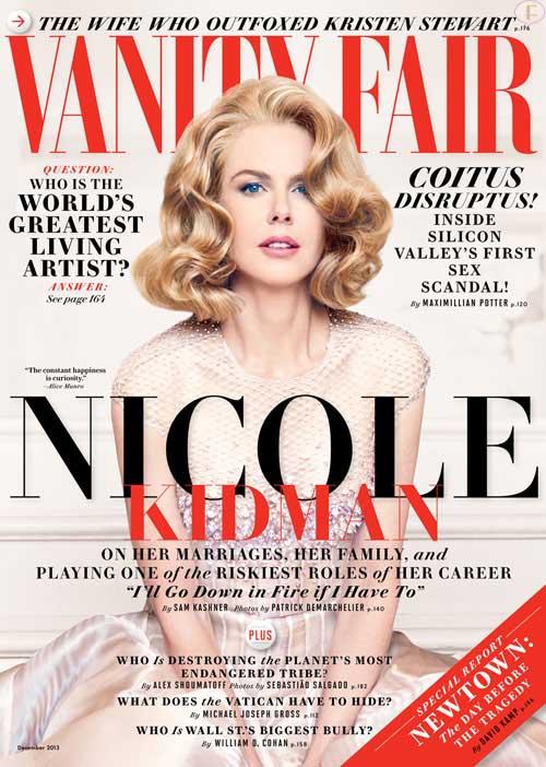 Nicole Kidman habla de Tom Cruise en Vanity Fair