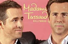 Ryan Reynolds inmortalizado en cera en el Madame Tussauds