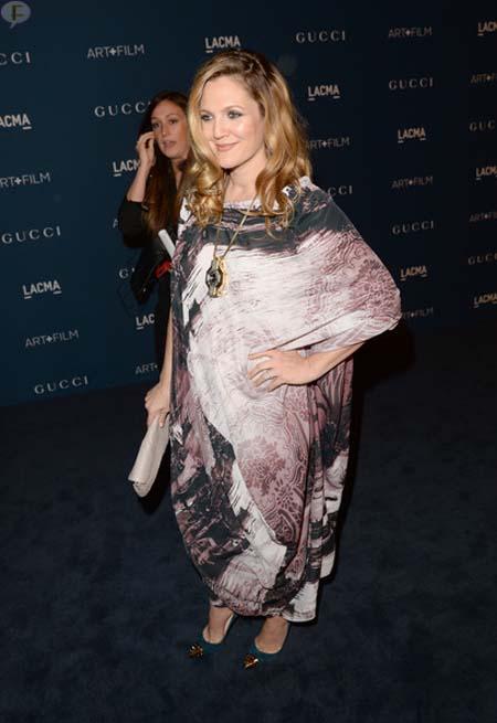 Drew Barrymore espera su segundo baby!!