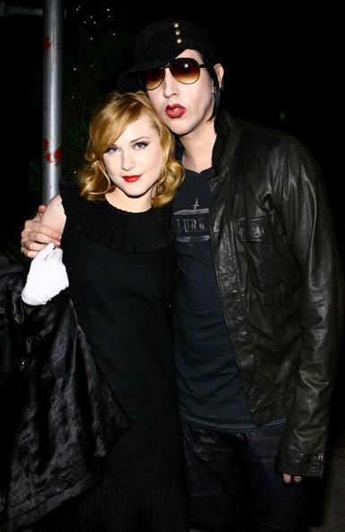 Evan Rachel Wood habla de su romance con Marilyn Manson
