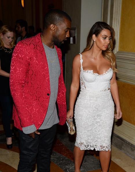 Kim Kardashian en el nuevo video de Kanye West
