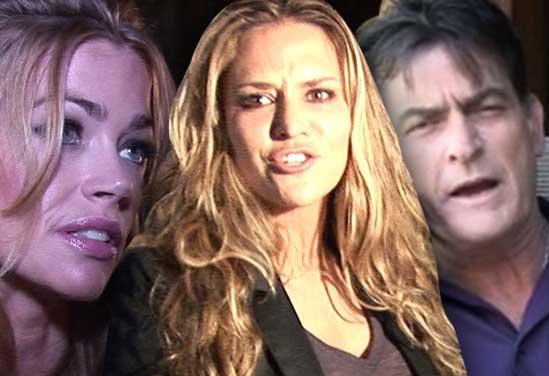 Denise Richards no cuidará mas a los Gemelos de Charlie y Brooke